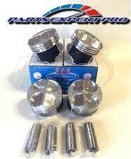 YCP 82MM HIGH COMPRESSION PISTONS ACURA INTEGRA CIVIC SI TYPE R B16 B18