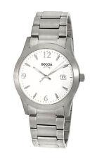 Boccia Quarz - (Batterie) Armbanduhren aus Titan für Herren