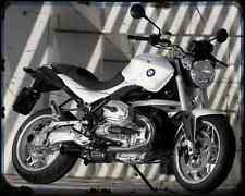 Bmw R1200R 08 1 A4 Metal Sign Motorbike Vintage Aged