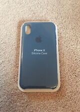 New Silicone Case For Apple iPhone X Cosmos Blue