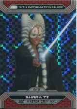 Star Wars Chrome Perspectives II X Fractor Parallel Base Card 6-S Shaak Ti