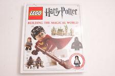 DK Books 2011 Harry Potter Building the Magical World w/ Original MiniFig VG M02