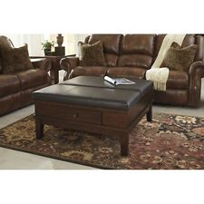 Signature Design by Ashley T845-21 Coffee Table with Lift Top - Medium Brown