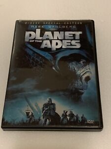 Planet of the Apes (DVD, 2001, 2-Disc Set, English/French Versions)