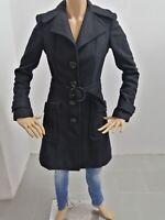 Cappotto GUESS Donna Taglia Size S Jacket Woman Veste Femme Lana P 7516