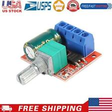 Hw 687 Pwm Dc Motor Speed Controller Module Dc45v 28v Adjustable Regulator