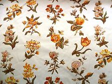 "LAURA ASHLEY ""Tess"" Vintage Cotone Floreale 18 x 22 ""Patchwork / artigianato / Cuscino"