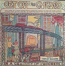 HARVEY MANDEL - Get Off In Chicago   - Pre-owned Vinyl