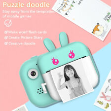 Children Digital Instant Print Selfie Camera 24MP Dual Lens HD 1080P for Kids