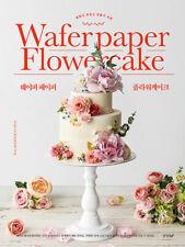 Wafer Paper Flower Cake 웨이퍼페이퍼 플라워 케이크 Beautiful Easy Cake & Flower Deco Making