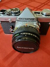 Olympus Om-2 35mm Slr Film Camera with 50 mm lens Kit