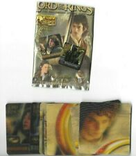 FELLOWSHIP OF THE RING ACTION FLIPZ 60 CARD SET - MT/NM- PLUS BONUS!!