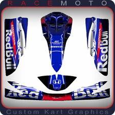 F1 Sticker Kit for Otk M5 Cadet TonyKart Rotax Nosecone Nassau Panel & Side Pods