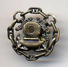 RUSSIAN MILITARY TINY SPETSNAZ PIN BADGE ANCHORS NAVY DIVER