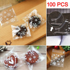 100Pcs Candy Bags Cellophane Cookie Sweet Favour Gift Party Small