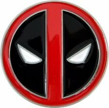 Marvel Comics DEADPOOL Logo Metal Enamel BELT BUCKLE