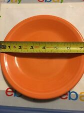 Homer Laughlin China Co Fiesta USA Orange Plate  7 1/4 Inch