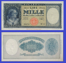 Italy 1000 lire 1947  UNC - Reproduction