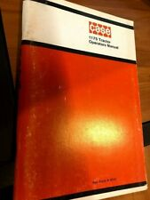 Case 1175 tractor Operator's instruction manual book 9-4041