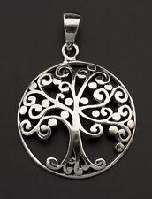 Pendentif Arbre de Vie Celtique magic irlandais filigrane Argent 925 5.6g  25905