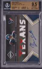 2010 Limited Gold Spotlight Ben Tate Auto 2 Clr Jrsy Rc # to 10 BGS 9.5, 10 Auto