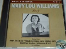 CD JAZZ ARCHIVES 116 MARY LOU WILLIAMS STORY