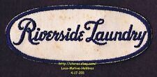 """Lmh Patch Riverside Laundry Laundromat Cleaners Coin Washateria Dry Cleaning 5"""""""