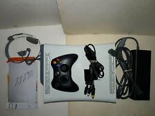 Microsoft Xbox 360 Original White console 20Gb (Hdmi) With Accessories