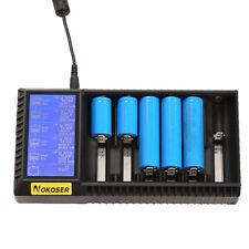 NOKOSER Intellicharger D6U Ladegerät LCD für Li-Ion NiMH NiCd Akku 18650 26650