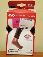 McDavid 6577 Compression Calf Sleeves - Pair - Black - M Medium