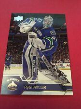 Ryan Miller   Canucks 2016-2017 Upper Deck #183