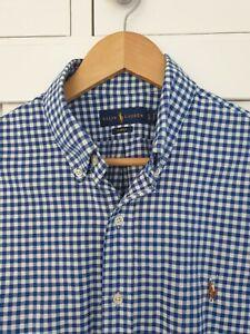 Ralph Lauren Polo Slim Fit Shirt Large