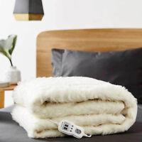 Linen House Wool Multi-Zone Electric Blanket | 100% Australian Wool | Single
