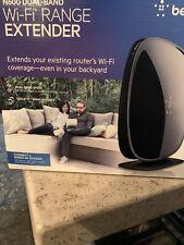 BELKIN N600 Dual-Band Wi-Fi Range Extender (F9K1106)  - New