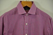 Men's Ralph Lauren, LT.WT. 100% Cotton, Spread Collar Shirt. Sz.M. Armpit 24""