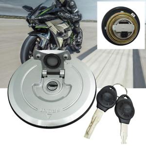Modification Motorcycle Fuel Gas Tank Cap Lock Key