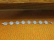 Harley Davidson Sterling Silver Link Bracelet