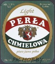 Poland Brewery Lublin Perła Beer Label Bieretikett Etiqueta Cerveza lu56.1