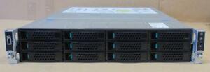Intel R2312WTTYS SR2312 2x 8-Core E5-2630L v3 64GB 48.4TB HDD SSD Storage Server