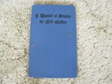 More details for a manual of prayers for girl guides 1947