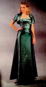 Bella Formal Mother Of The Bride Dress By Venus Size 16 Blue Strapless/Bolero