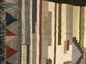 West Elm rug with underlay for sale