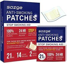 Sozge Anti-Smoking Patches Box Of 14 Step 1 SEALED