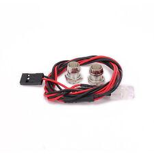 Body Headlight 2 LEDs Shell Light Headlamps For RC 1/10 1/16 1/18 HSP Crawler