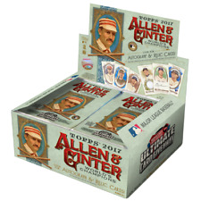 2017 Topps Allen & Ginter Baseball 24 Pack Box FACTORY SEALED Judge RC?