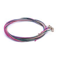 """3 Kit di Corde Diversi Colori per Chitarra Acustica 40"""" K1C7 E0S3"""