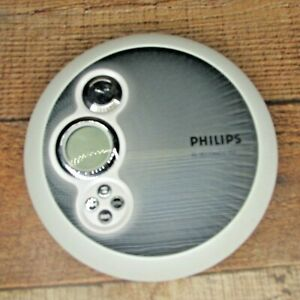 Philips AX2411/17 - Portable CD Player Discman 45 Second ESP Tested Plays