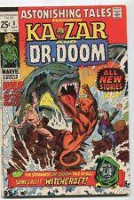 Astonishing Tales #8 FN Ka Zar And Dr. Doom  Strangest Tale Of All   Marvel SA