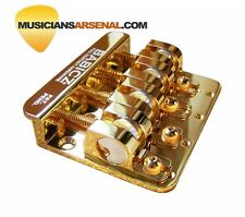 Babicz Full Contact Hardware 4-String Bass Bridge - Gold *SALE*