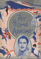 """""""At Home Abroad""""  Souvenir Program  1935  Beatrice Lillie & Ethel Waters"""